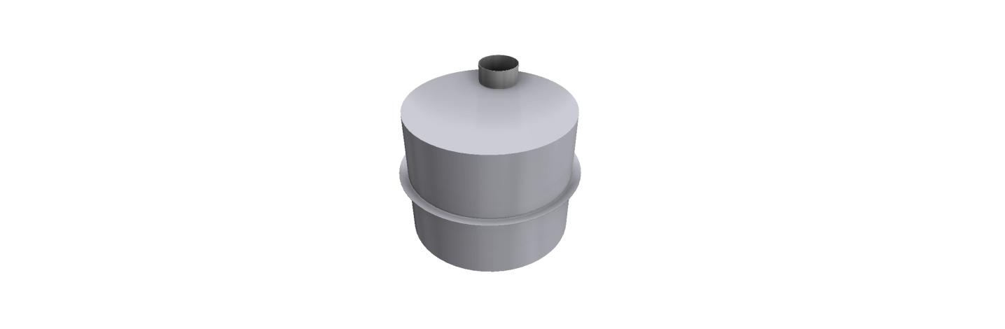 Plastové nádrže tvar valca